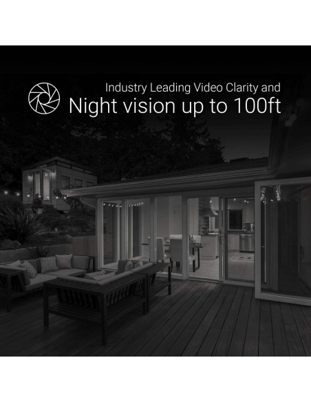 Ezviz Wireless Security Camera Kit with up to 100ft night vision.