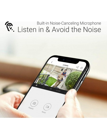 Ezviz Wireless cameras with built in microphone for listening not just watching.