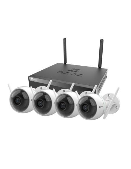 Ezviz Wireless 4 Channel 1TB HDD 1080P Security System - CS-X5S-4W
