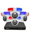 Swann 8MP 8Ch 4K Ultra HD DVR 2TB HDD & 4x 4K Enforcer Security System