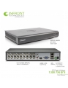 Swann SWDVK-164558 16 channel TVI 1080P DVR with 2TB HDD and 8x PRO-T853 Bullet Cameras