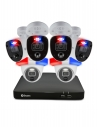 Swann Enforcer 8 Ch 4K Ultra HD DVR with 2TB HDD 4 x Bullet & 2 x Dome Cameras Security System