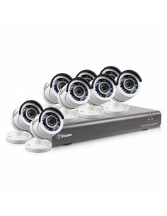 Swann 16 channel TVI 1080P DVR with 2TB HDD and 8x PRO-T853 Bullet Cameras