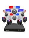Swann 8MP Enforcer 8Ch UHD DVR 2TB 4x Bullet & 4x Dome Cameras Security System