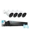 Reolink 5MP 8Ch 2TB AI Version NVR Surveillance System 4x RLC-510