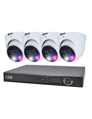 VIP Vision 4Ch 1TB 4x 2MP A.i...