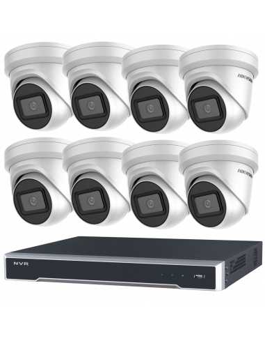 Hikvision 8MP 8CH NVR with 8 x IP...