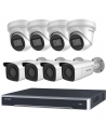 Hikvision 8MP 8CH NVR with 8x IP Darkfighter 2.8MM Bullet & Dome Camera CCTV Kit - HIKIT8-83T-4B4D28