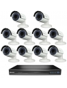 Swann SWNVK-167095-10D 16 Channel 3MP Recorder 4TB HDD and 10 x NHD830 Vari Focal Bullet Cameras