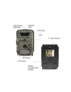 Swann OutbackCam Portable 1080P Video 12MP Photo Trail Camera