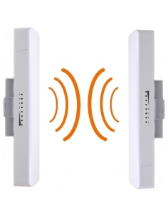 Comfast Long Range Wireless Bridge Antenna kit 300Mbps 5.8Ghz upto 1KM Range - CFE312A