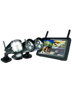Uniden Guardian G3721L Full HD Digital Wireless System with 2 Security Cameras & 1 Motion Detection Spotlight Camera