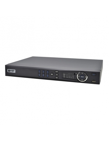 VIP - Professional 8 Channel Network Video Recorder with PoE (320Mbps)
