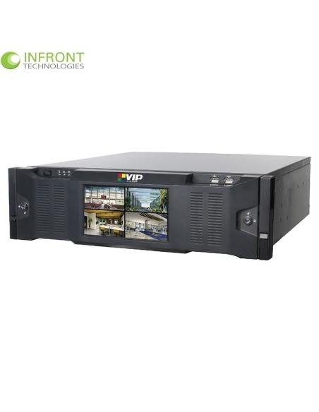 VIP Vision NVR64ULTNPV2 Ultimate 64 Channel Network Video Recorder (384Mbps)