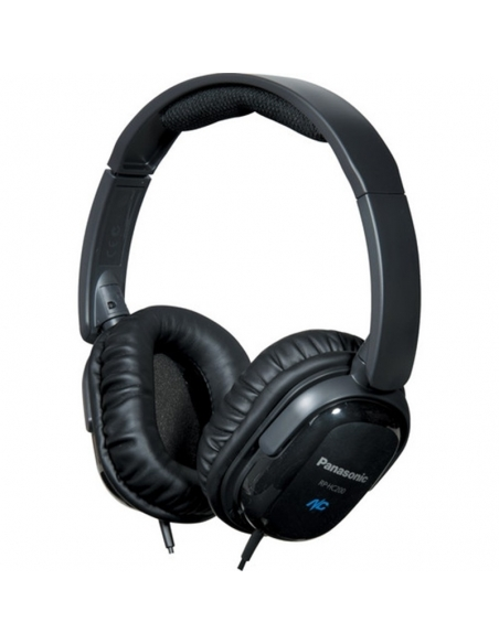 Panasonic RP-HC200 Noise Cancelling Around-Ear Stereo Headphones