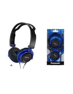 Panasonic DJ Style Over Ear Deep Bass Headphones Blue