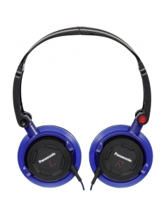 Panasonic DJS150E-A DJ Style Over Ear Deep Bass Headphones - Blue