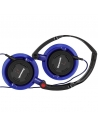 Panasonic DJ Style Over Ear Deep Bass Headphones Blue