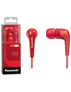 Panasonic RP-HJE140E-R Powerful Sound In Ear Headphone - Red