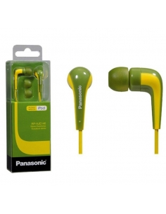 Panasonic RP-HJE140E-G Powerful Sound In Ear Headphone with Bass Boost - Green