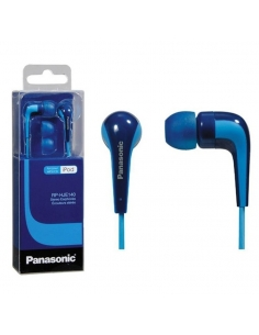 Panasonic RP-HJE140E-A Powerful Sound In Ear Headphone with Bass Boost - Blue
