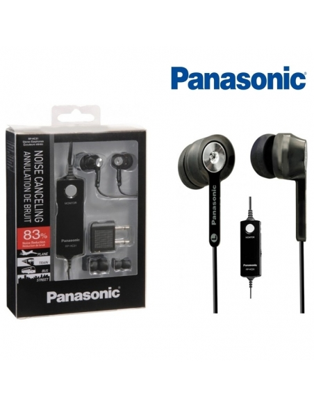 Panasonic RP-HC31 Noise Canceling In Ear Headphones / Earbuds