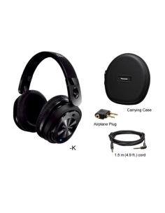 Panasonic RP-HC800E Noise Canceling Around-Ear Stereo Headphones
