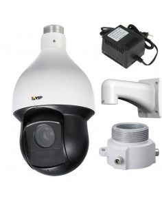 VIP Vision VSIP2MPPTZIRV2 Professional Series 2.0MP H.265 WDR Infrared 25x Zoom PTZ Dome