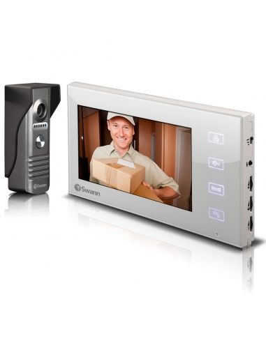 "Swann SWHOM-DP880C Doorphone Video Intercom 7"" LCD Screen"