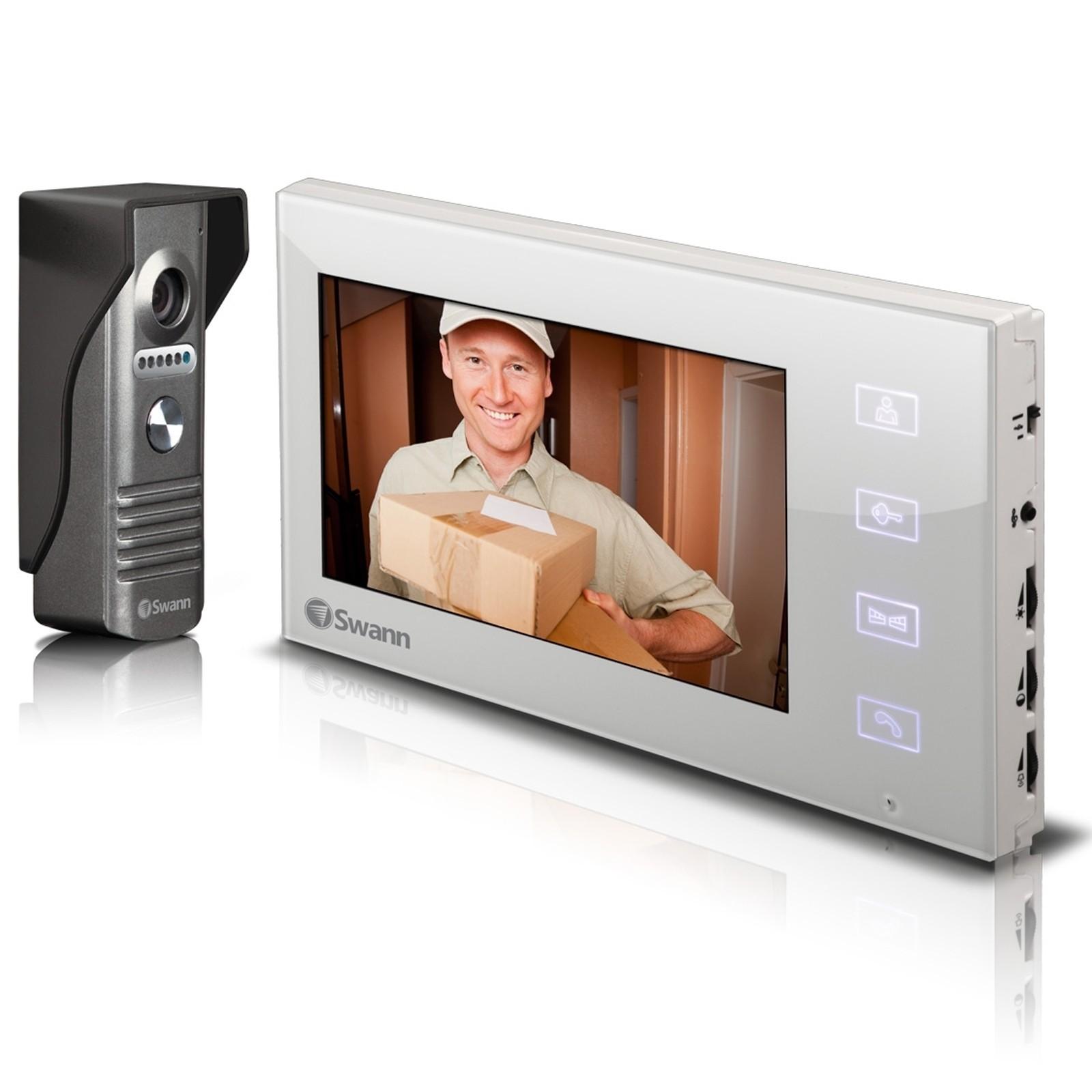 Futuro Intercom Wiring Diagram 30 Images Home Swann Swhom Dp880c Doorphone Video 7 Lcd Screen Door Lock Striker Release For