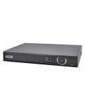 WGuard Compact 8MP(80Mbps) 4Ch NVR4COM2 PoE IP Recorder No-HDD(Max10TB) 1xSATA