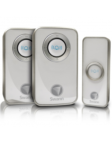Swann SWHOM-DC820P2 Wireless Door Chime Bell