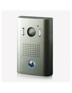 Futuro Video Door Intercom Kit Black With Memory Surface Mount CZ4 Camera