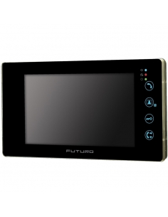 Futuro SDB4 Video Front Door Intercom with Intercommunication and Recording - FUT-SD4B-Blk-REC