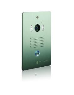 Futuro Video Intercom Kit with White Screen Flush Mount CP4 Camera - FUT-101W-KIT