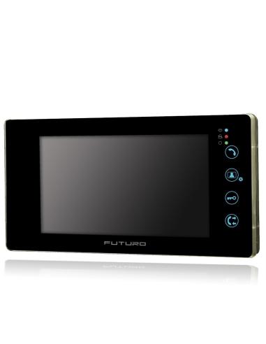 Futuro Video Front Door Intercom with Intercommunication - FUT-SD4B-Blk-NoM