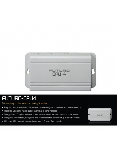 Futuro Cpu4 For 7 Video Intercom Kits Front Door Camera Units