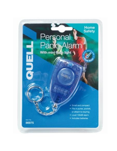 Personal Alarm Blue Loud Siren Duress