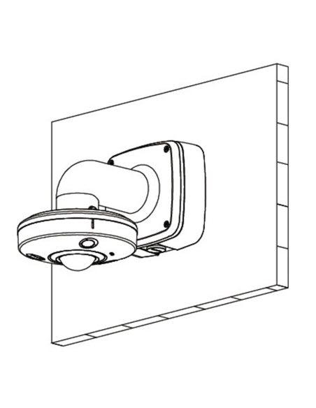 VIP Vision Fisheye Series 12.0MP Infrared 360° Fisheye Dome