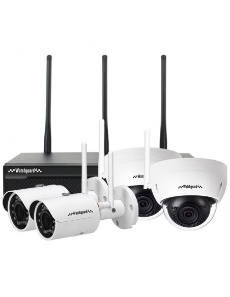 Watchguard WiFi Series 4 Channel 3.0MP Wireless IP Surveillance Kit