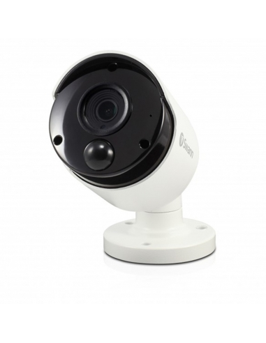 Swann 8MP SWNHD-885MSB 4K IP True Detect White Bullet Camera Audio NHD-885MSB