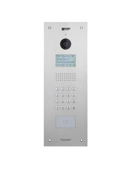 VIP Vision Apartment Series IP Outdoor Station (Stainless Steel)