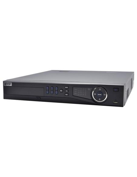 VIP Vision Pro 12MP (320Mbps) 24Ch NVR H.265 PoE IP Recorder No-HDD(Max40TB) 4xSATA 4K
