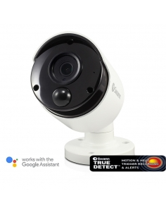 Swann Thermal Sensing PIR Security Camera: 5MP Super HD Bullet with IR Night Vision
