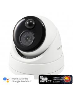 Swann 5mp IP True Detect White Dome Camera w Audio