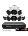 Swann 4K Ultra HD NVR-8580 with 2TB HDD & 8 x 4K Thermal Sensing Bullet Cameras NHD-885MSB