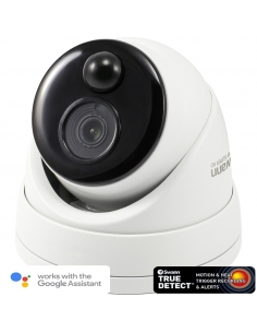 Swann Thermal Sensing PIR Security Camera: 5MP Super HD Dome with IR Night Vision - PRO-5MPMSD
