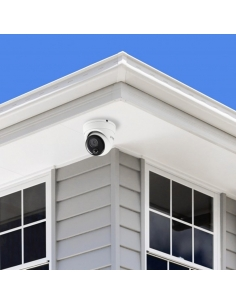 Example of Swann CCTV Surveillance Camera on an Eave. Australia