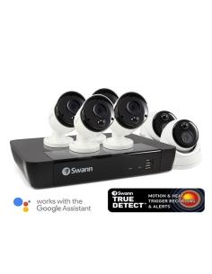 Swann 8 Ch 5MP Super HD NVR-8580 Security System 2TB HDD & 6 x 5MP Thermal Sensing Cameras