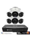 Swann 8MP SWNVK-885806 4K NVR 6x NHD-885MSB 8MP True Detect Cams w Audio